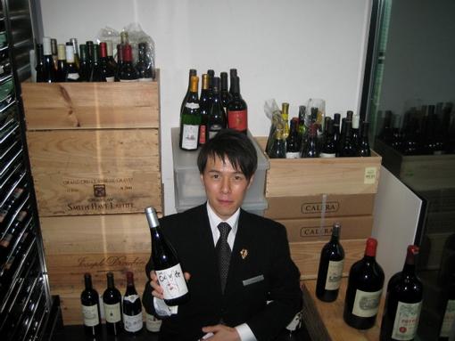 新しいグラスワインの選別